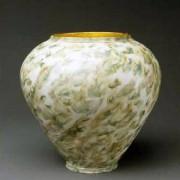 ©Heidi Loewen Gold Porcelain Vases