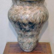 ©Heidi Loewen 23 K gold porcelain vases