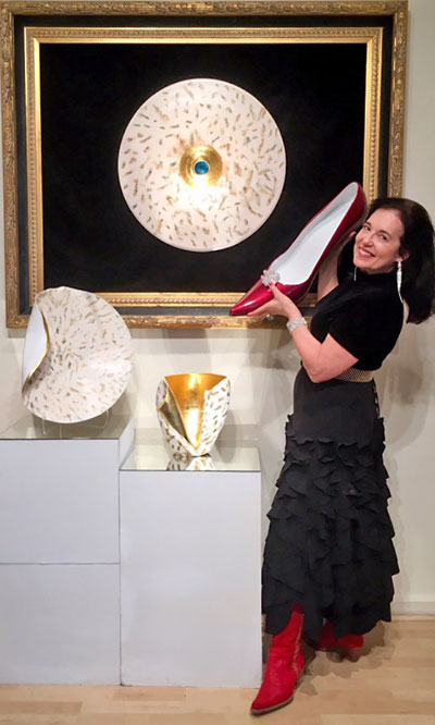 Heidi Loewen Porcelain Gallery School Santa Fe